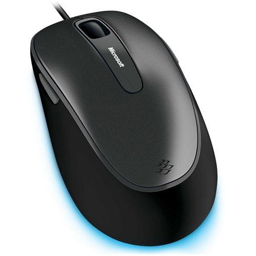 Microsoft Ενσύρματο Ποντίκι comfort 4500 Μαύρο