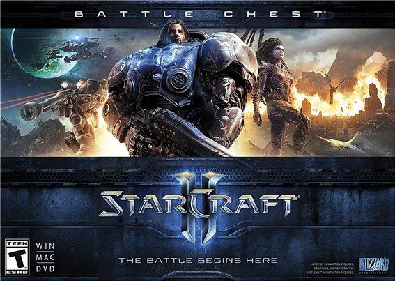 Blizzard Star Craft 2 Battlechest v2 PC Game