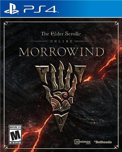 Bethesda The Elder Scrolls Online Morrowind Playstation 4 PS4 Game