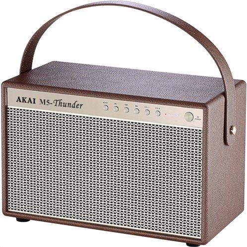 Akai M5-Thunder Φορητό ηχείο Bluetooth με USB, Aux-In και USB για φόρτιση – 30 W