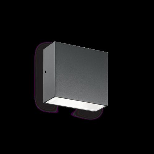Ideal Lux Φωτιστικό Τοίχου - Απλίκα Μονόφωτο TETRIS-1 AP1 ANTRACITE 113753