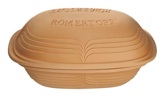 Romertopf Γάστρα - Πήλινο Σκεύος Παραλληλόγραμμο 35x22.5x16,5cm. Modern