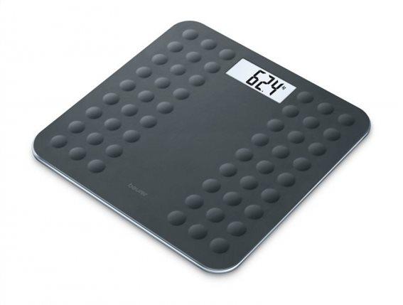 Beurer Γυάλινη ηλεκτρονική Ζυγαριά Μπάνιου Ψηφιακή GS 300 Black