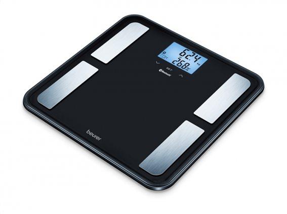 Beurer Ψηφιακή Διαγνωστική Ζυγαριά-λιπομετρητής Μπάνιου BF 850 Black με Bluetooth & Smartphone App