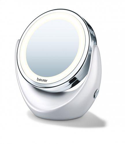 Beurer Φωτιζόμενος Καθρέφτης Καλλωπισμού με Μεγεθυντική Πλευρά BS 49 Illuminated Cosmetic Mirror