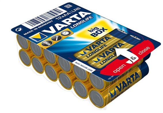 VARTA Αλκαλικές Μπαταρίες Longlife AA συσκ.12
