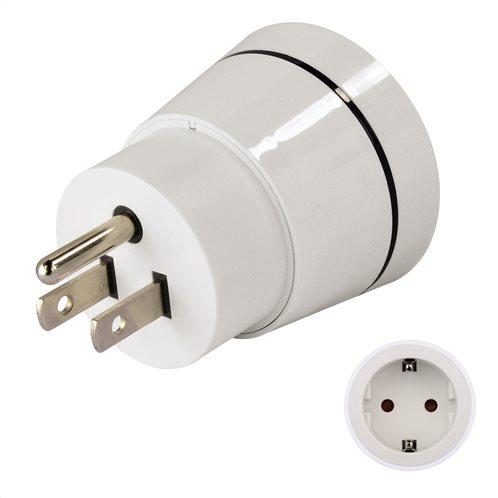 Hama Travel Adapter Plug,GR to USA