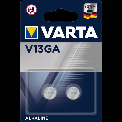 VARTA 13GA/LR44 DOUBLE BLISTER