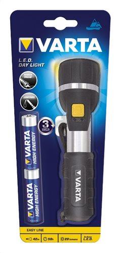 Varta Φακός LED Day Light (Περιλαμβάνει 2 μπαταρίες AA) 123438