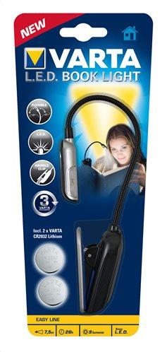 Varta Φακός LED Ανάγνωσης Book Light (Περιλαμβάνει 2 μπαταρίες CR2032) 123462