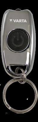 Varta Φακός Μπρελόκ Μεταλλικός (Περιλαμβάνει 2 μπαταρίες CR2016) 123473