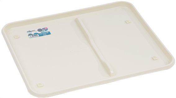 Wham Δίσκος για Πιατοθήκη Λευκός 44,5x36,5x2cm.