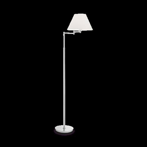 Ideal Lux Φωτιστικό Δαπέδου - Ορθοστάτης Μονόφωτο BEVERLY PT1 CROMO 126807