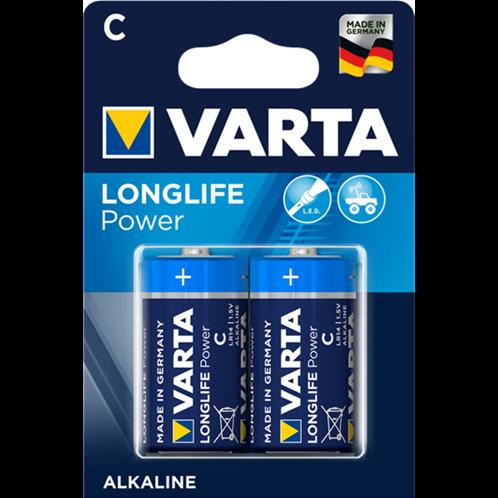 VARTA LONGLIFE POWER C BLISTERx2pcs