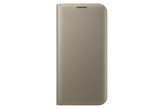 Samsung Flip Wallet Galaxy S7 Edge Gold