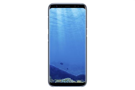 Samsung Silicone Cover S8 Blue