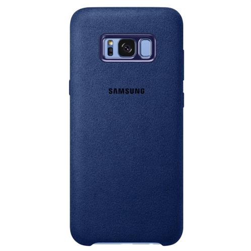 Samsung Alcantara Cover S8 Plus Blue