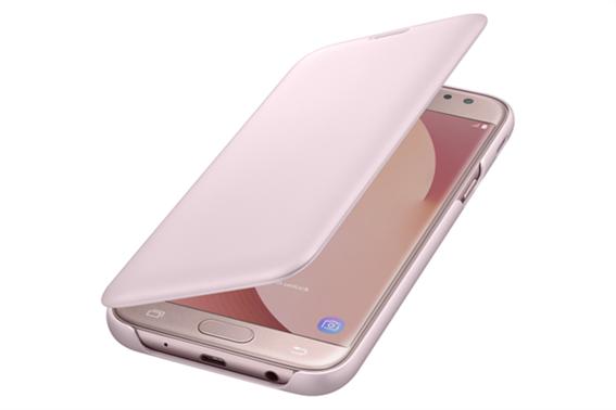 Samsung Flip Wallet Galaxy J5 2017 Pink