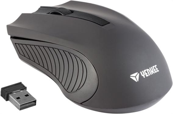 Yenkee Ασύρματο ποντίκι YMS 2015 BK Μαύρο