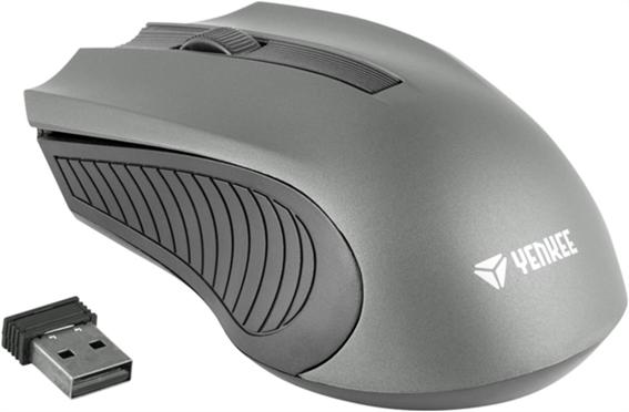 Yenkee Ασύρματο ποντίκι YMS 2015 GY γκρι