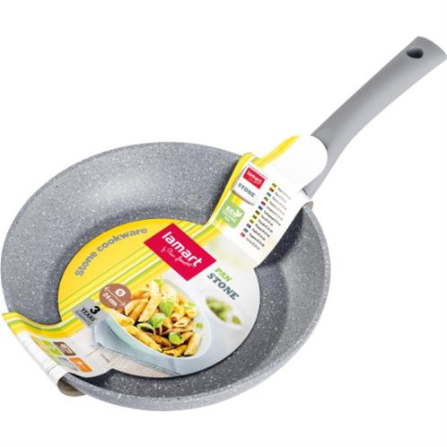 Lamart τηγάνι wok stone series 28cm lt1094