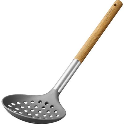Lamart lt3976 εργαλεία μαγειρικής νάιλον κουτάλα ξύλινη λαβή