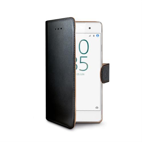 Celly Θήκη Κινητού Case Wally Sony Xperia E5 Black