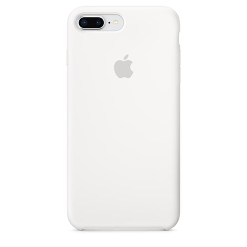 Apple Silicone Case iPhone 8-7Plus White