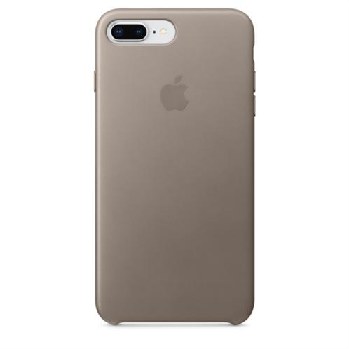 Apple Leather Case iPhone 8-7Plus Taupe