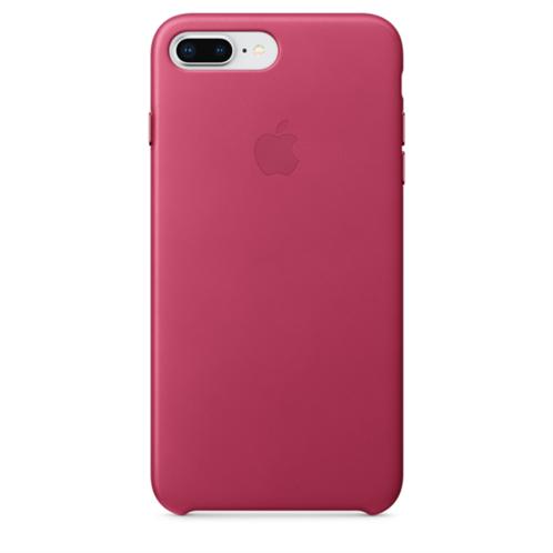 Apple Leather Case iPhone 8-7Plus Pink Fuchsia