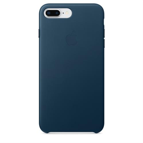 Apple Leather Case iPhone 8-7Plus Cosmos Blue
