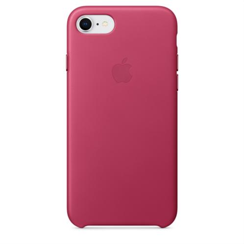 Apple Leather Case iPhone 8-7 Pink Fuchsia