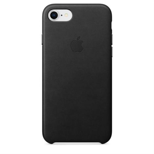 Apple Leather Case iPhone 8-7 Black