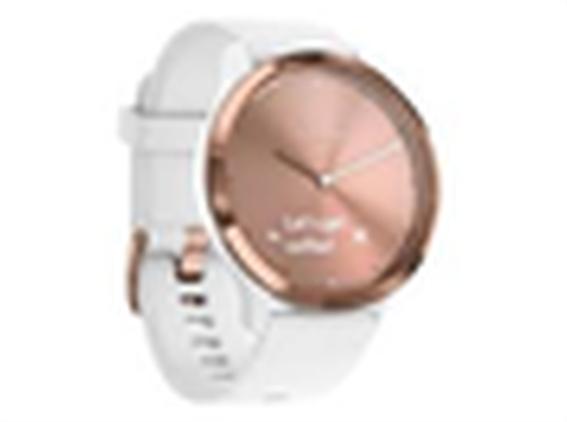 Garmin Vivomove HR Sport S/M Rose Gold-White
