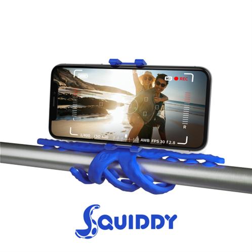 Celly Squiddy Flexible Mini Tripod Blue