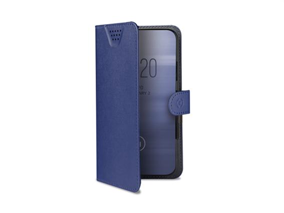Celly Case Wally Unica Grip Univ Book Blue XL