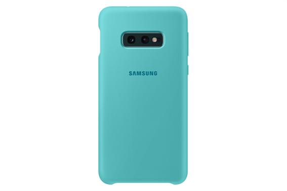 Samsung Silicone Cover S10 E Green