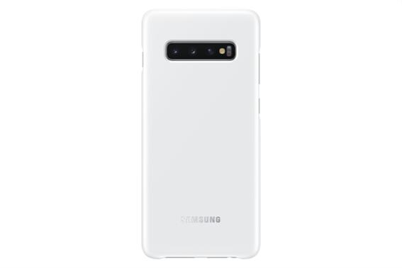 Samsung Θήκη Led Cover S10 + White