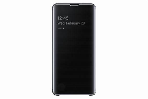 Samsung Θήκη Clear View Cover S10 Black