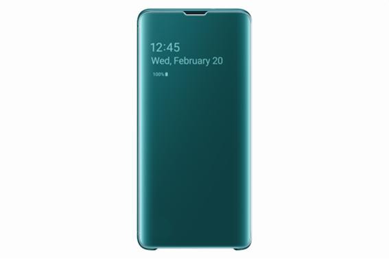 Samsung Θήκη Clear View Cover S10 Green