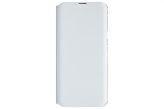 Samsung Flip Wallet Cover Galaxy A20 E White