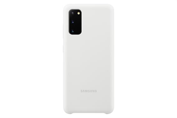 Samsung Silicone Cover S20 White