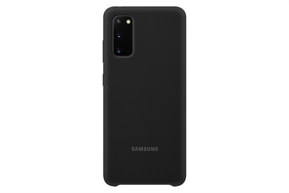 Samsung Silicone Cover S20 Black