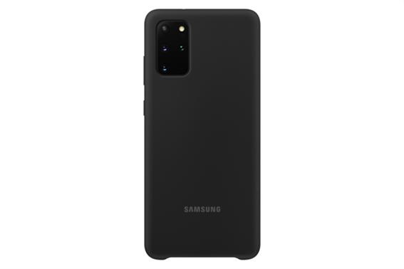 Samsung Silicone Cover S20+ Black