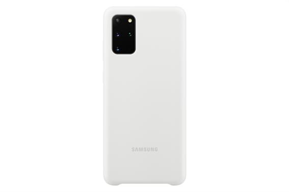 Samsung Silicone Cover S20+ White