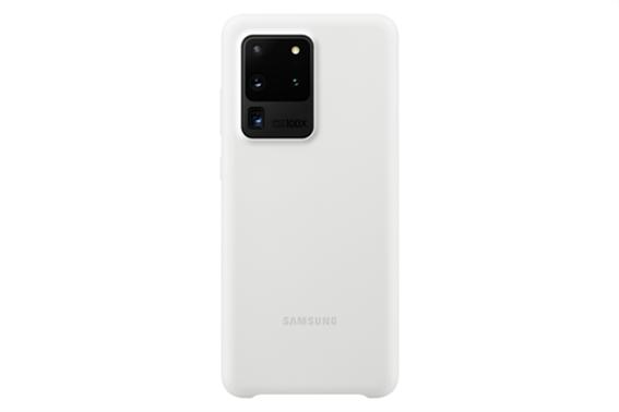 Samsung Silicone Cover S20 Ultra White