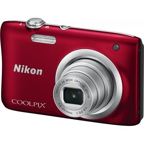Nikon Φωτογραφική Μηχανή Compact Coolpix A100 Red