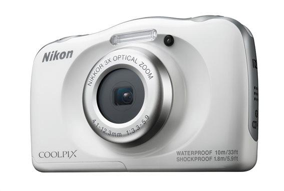Nikon Φωτογραφική Μηχανή Compact Αδιάβροχη W100 White Backpack kit & Τσάντα