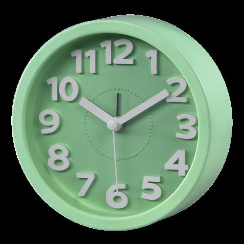 Hama Επιτραπέζιο ρολόι , χαμηλού θορύβου ,  πράσινο
