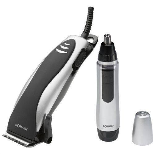 BOMANN Κουρευτική- Ξυριστική μηχανή για μαλλιά και γένια, ρεύματος 10W.  HSM 8007